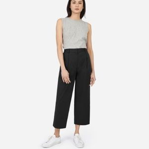 Final Sale! / Pleated Cropped Tapered Pants